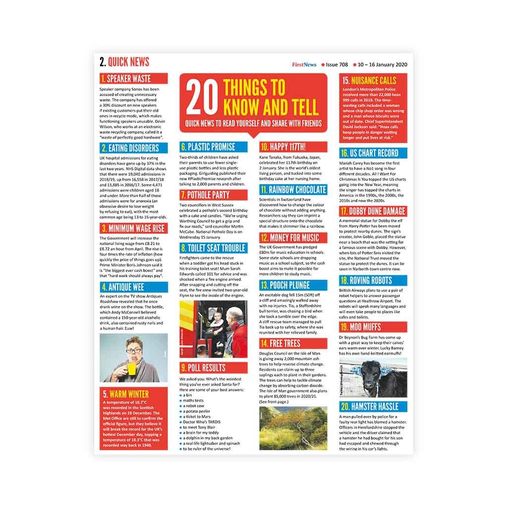 Noviny First News - číslo 6 (708/ 2020)