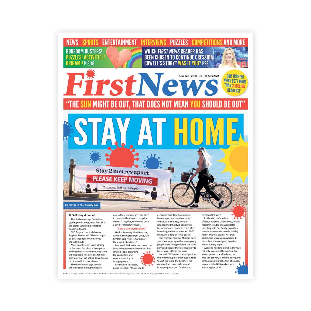 Noviny First News - číslo 9 (721/ 2020)