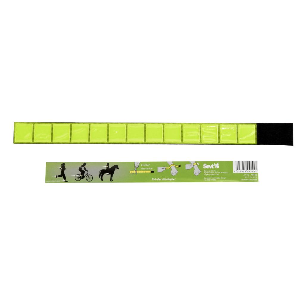 Reflexný náramok - suchý zips, nastaviteľná dĺžka