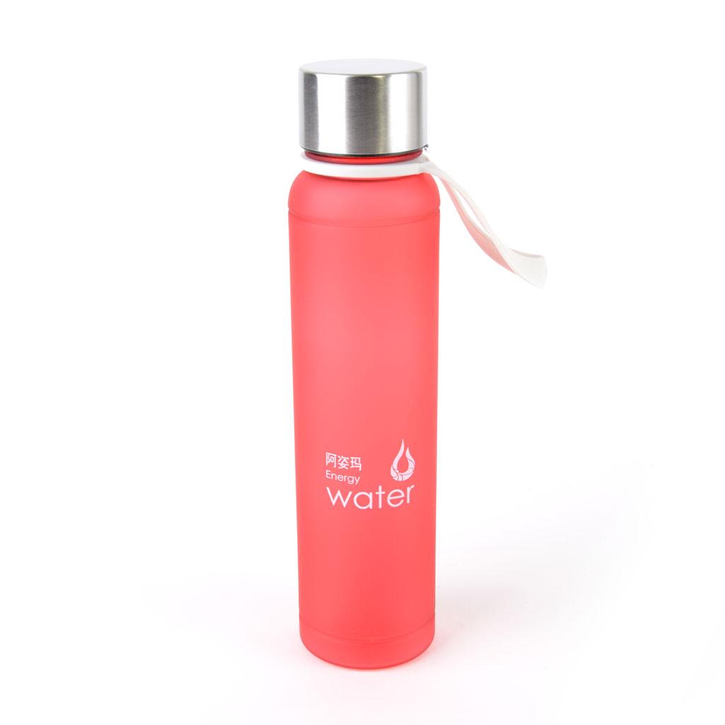 Plastová fľaša 480ml, červená