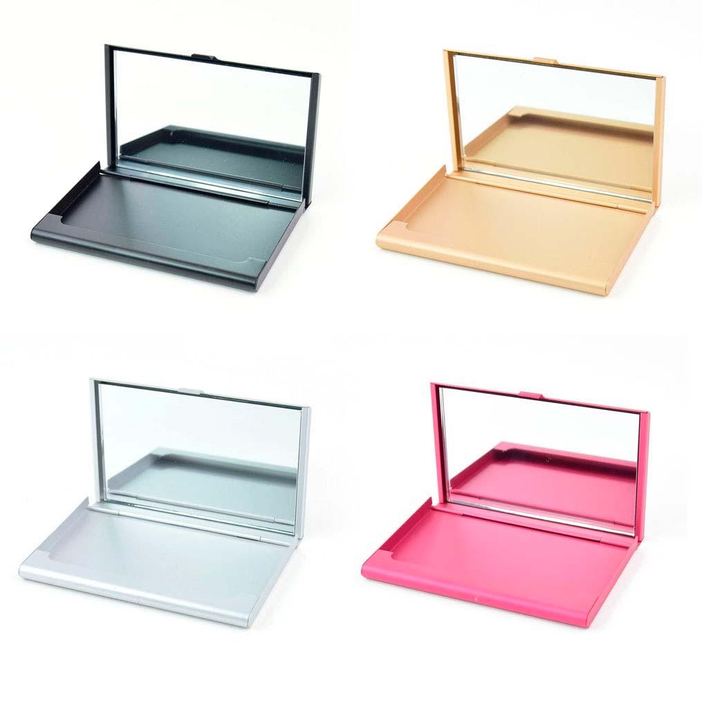 Vizitkár so zrkadielkom, mix farieb