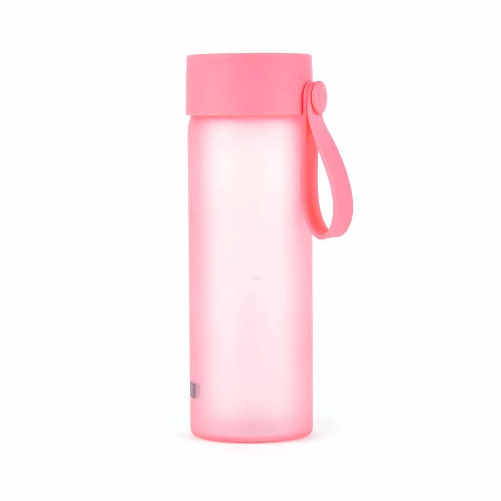 Sklenená fľaša 380 ml, mix farieb
