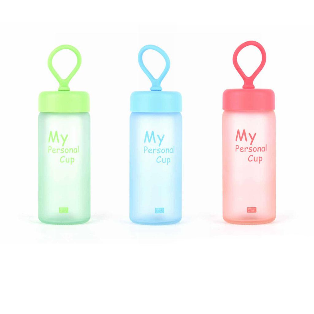 Sklenená fľaša 250 ml, mix farieb