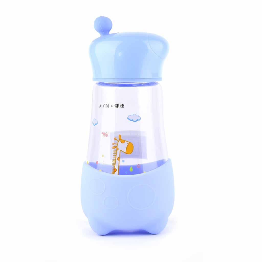 Sklenená fľaša 350 ml, mix farieb