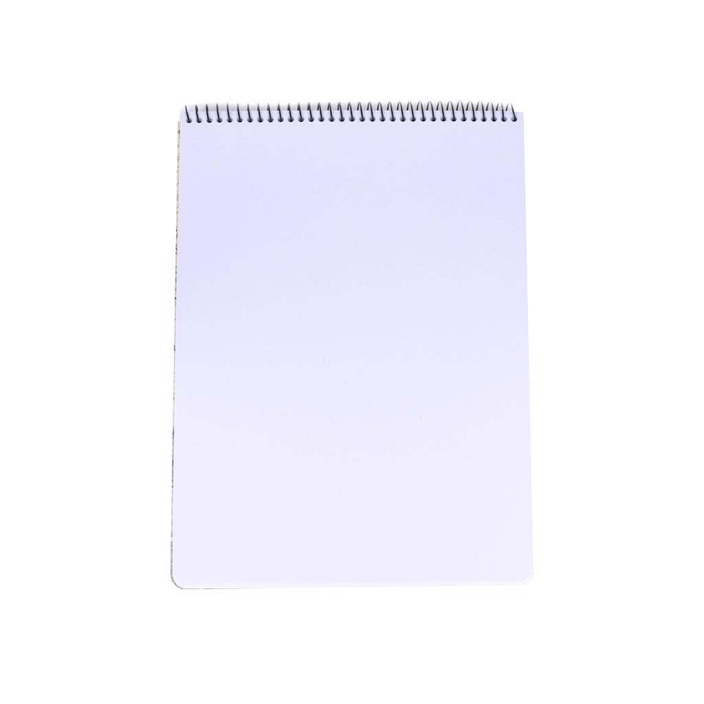 Skicár so špirálou po kratšej strane, 25,2x35,5cm, 25 l.,  mix motívov