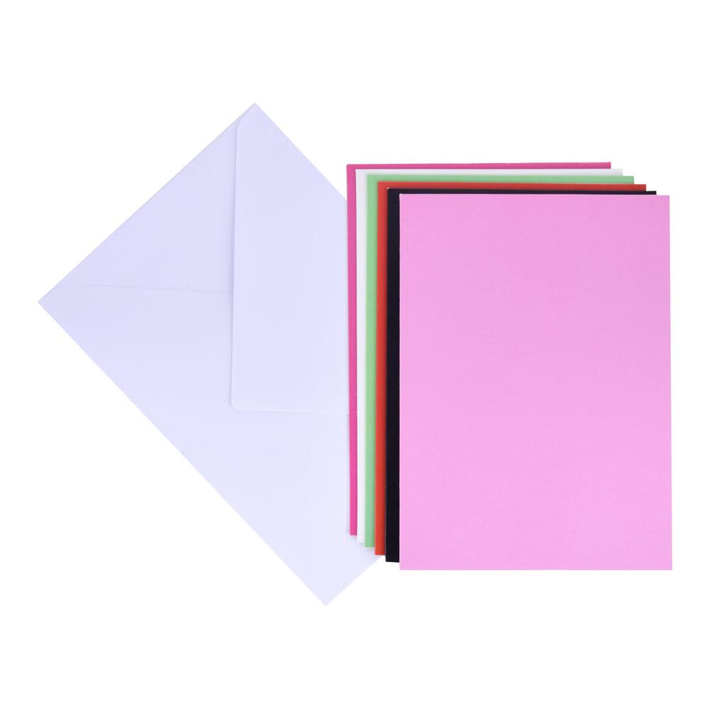 Set, 6 kartiet + 6 obálok C6
