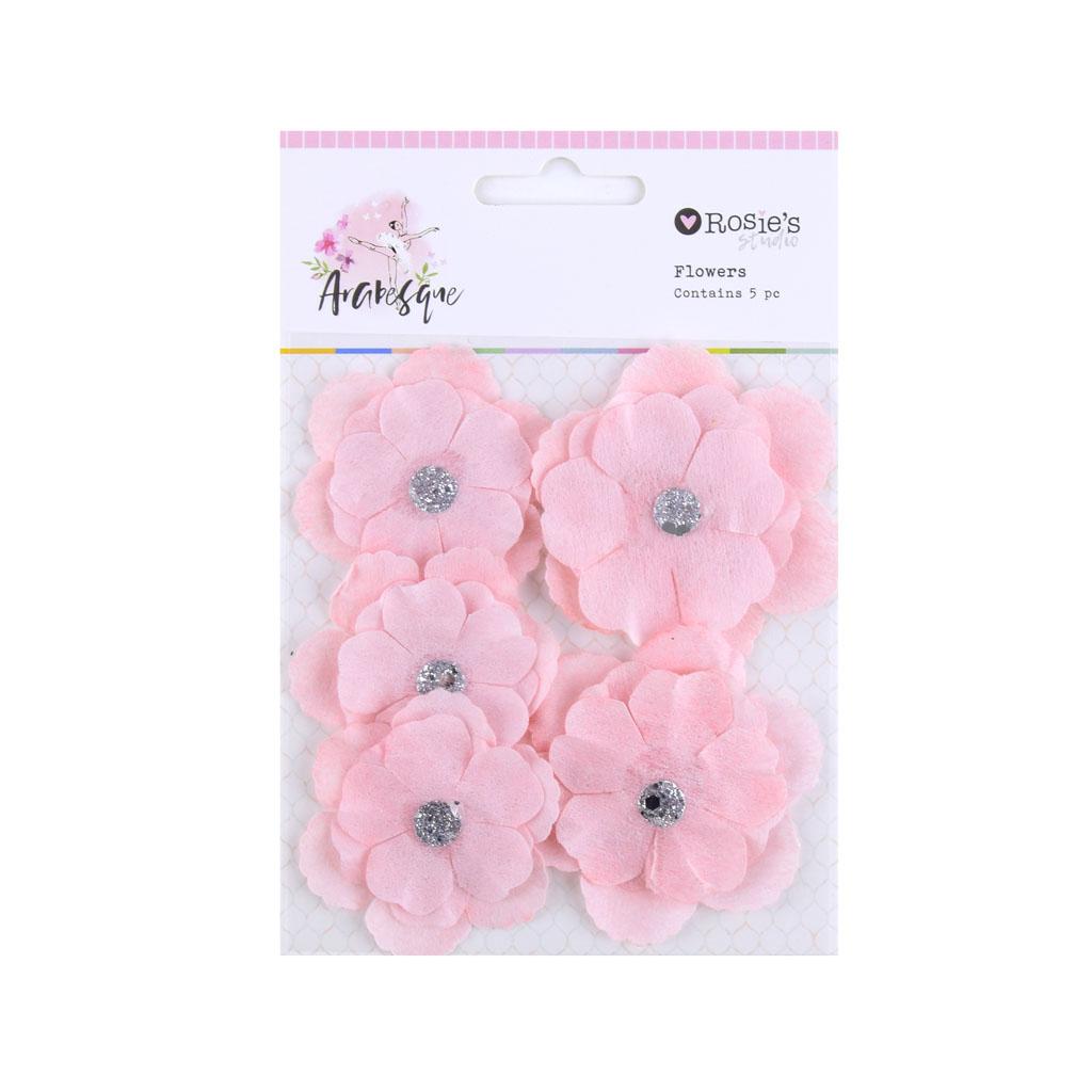 Dekoračné kvety, 5ks