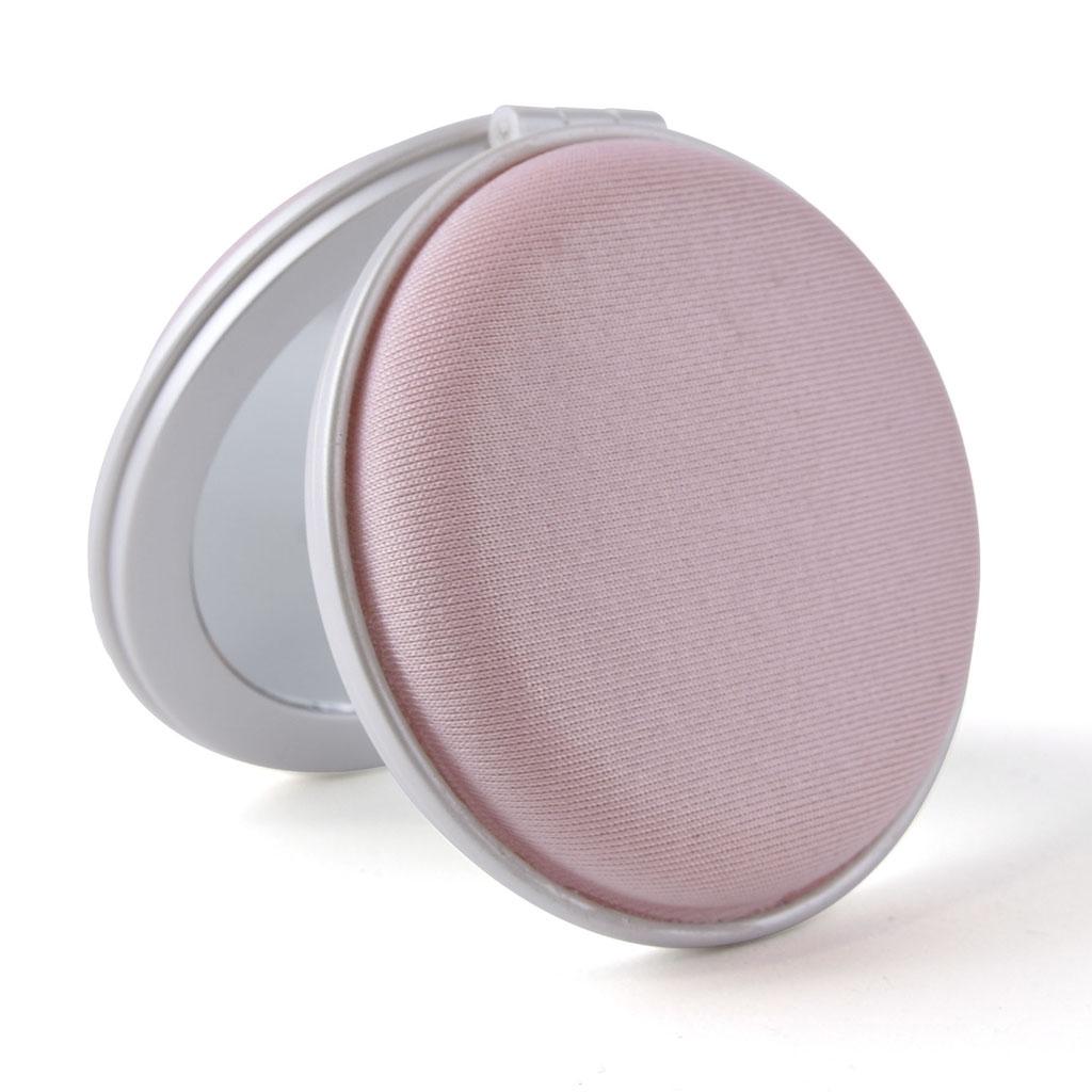 Zrkadielko, okrúhle so zipsom, 75x5x20mm, mix farieb