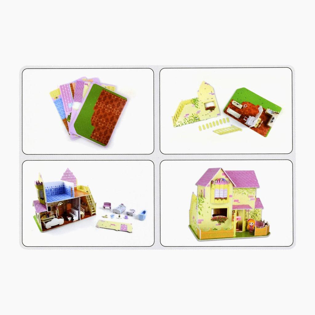 3D Puzzle - Domček pre bábiky, 103 dielikov