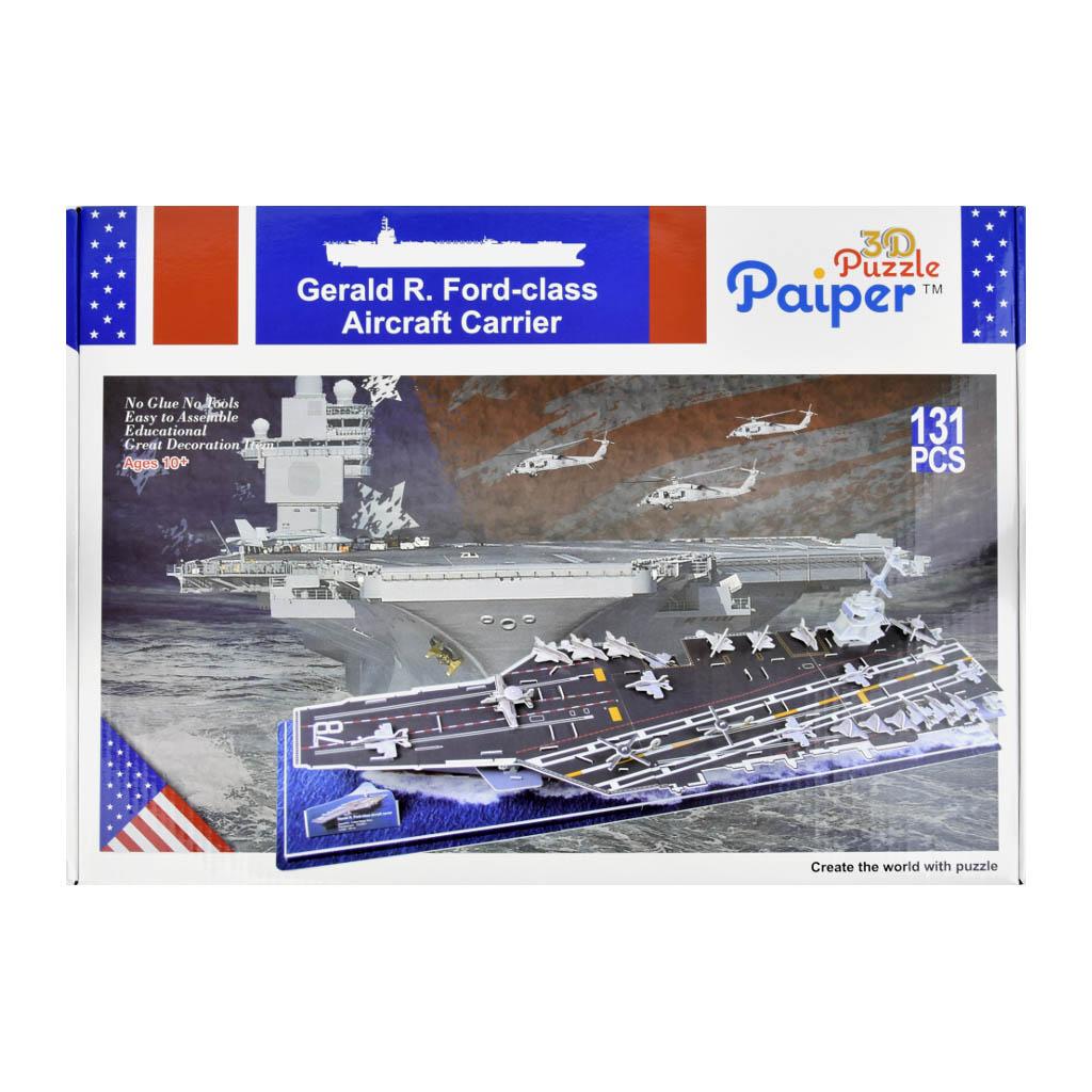 3D Puzzle - Lietadlová loď, 131 dielikov