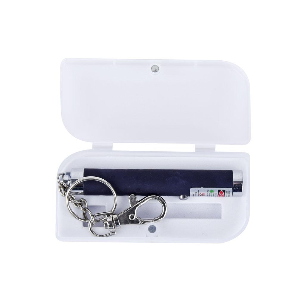 Laserové ukazovadlo s príveskom na kľúče