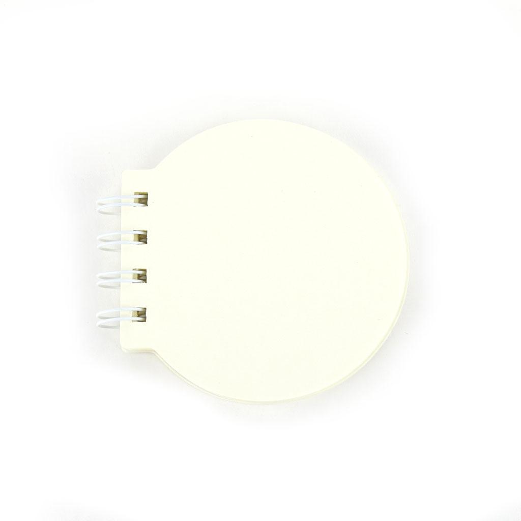 Poznámkový blok, čistý, 109l., so špirálou mini, mix motívov a tvarov
