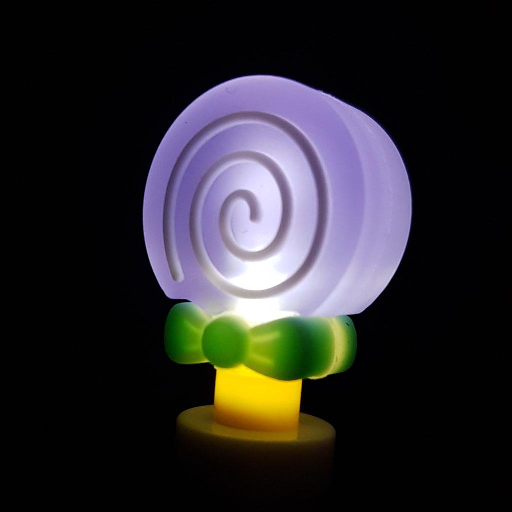 "Pero gelové 0,5 mm svietiace, čierna náplň, ""Candy"", mix farieb"