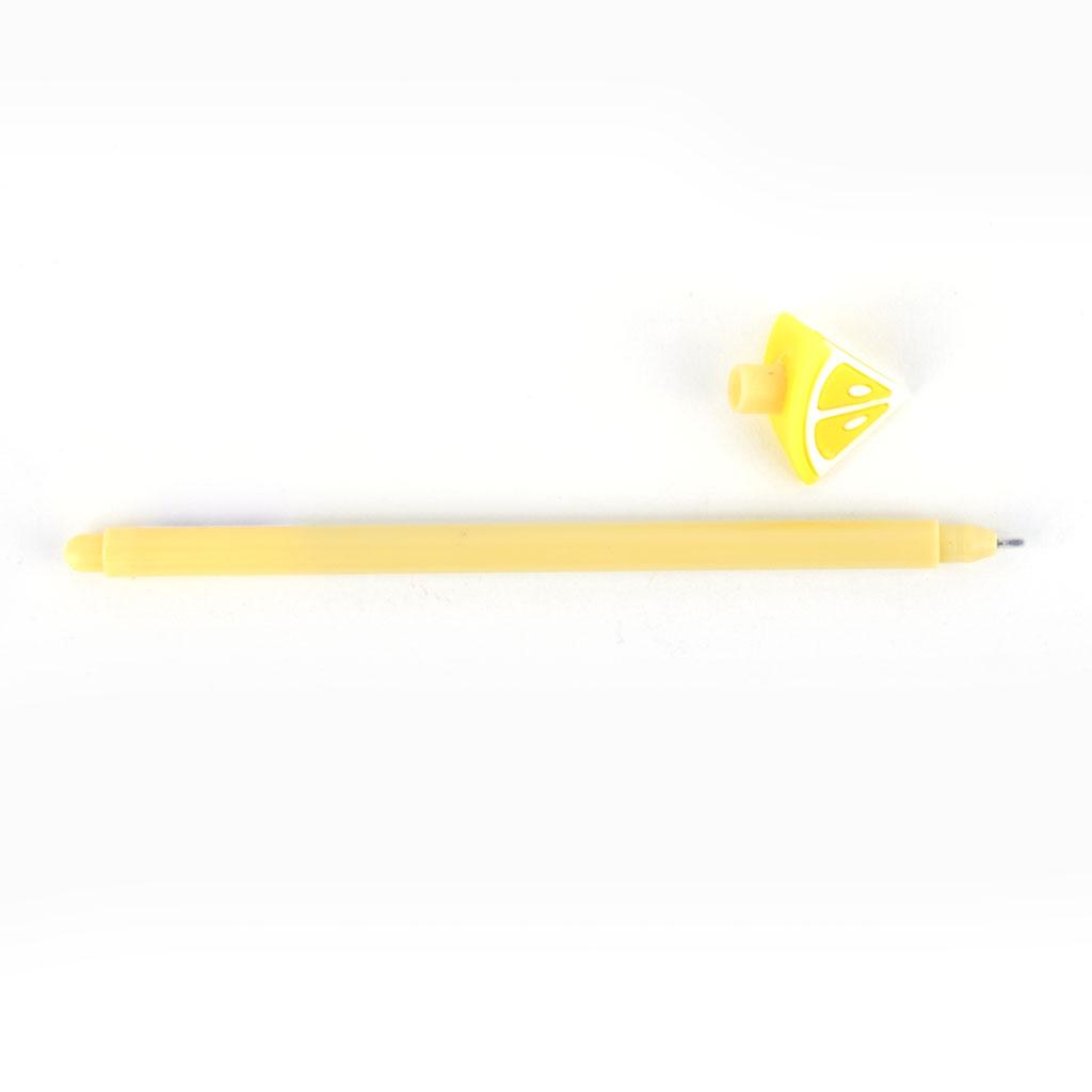 Pero gelové 0,5mm, čierna náplň, ovocie