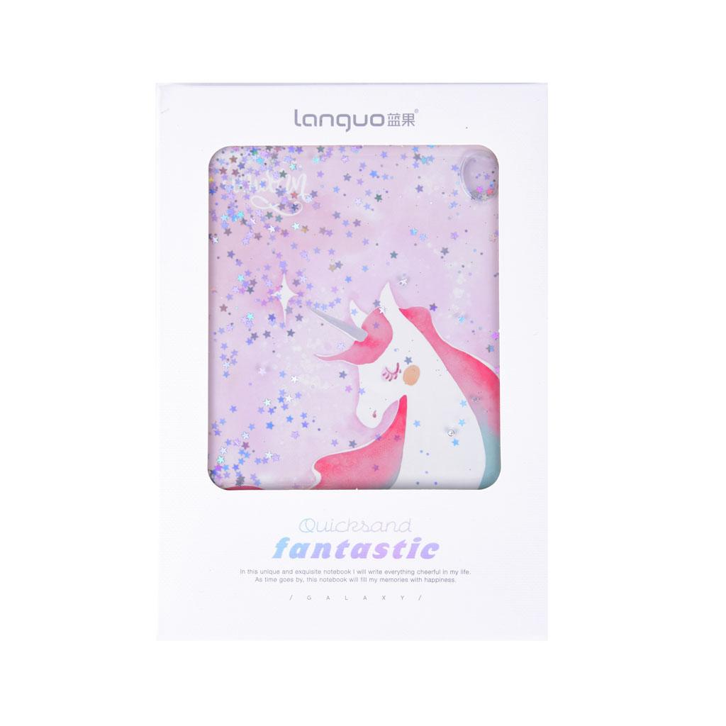 """Poznámkový blok """"Fantastic"""" s obalom 128x185mm, 80l., mix liniatúr, mix motívov"""