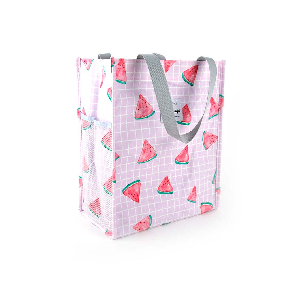 """Textilná taška so suchým zipsom Languo """"ovocie"""", mix motívov"""