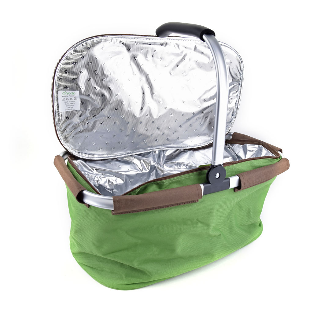 Košík na piknik, chladiaci, kapacita: 22L