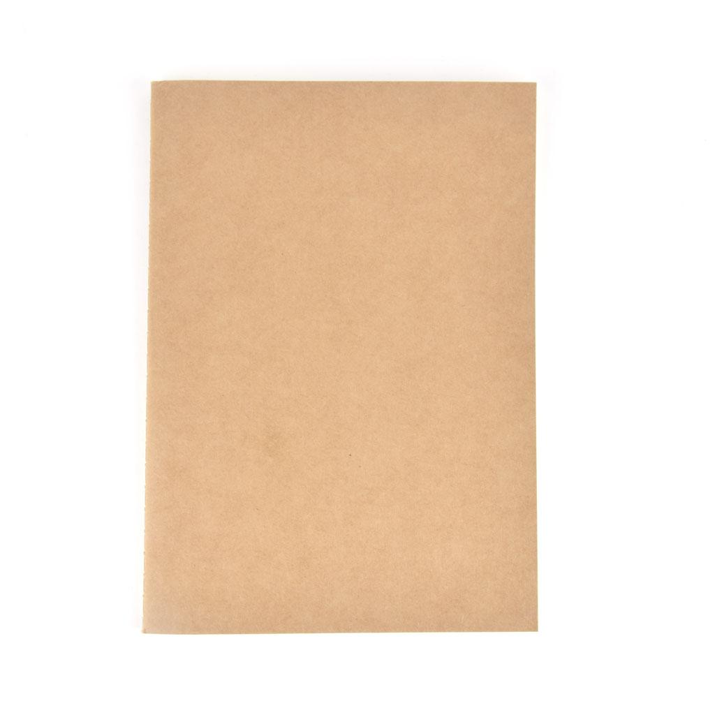 Poznámkový blok B5, linajkový, 36 listový, natur
