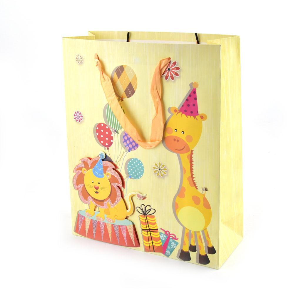 Darčeková taška veľkosť M, mix motívov