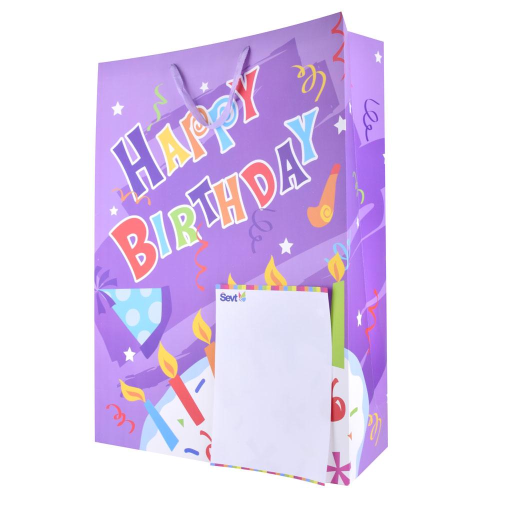 Darčeková taška veľkosť XXL, mix motívov
