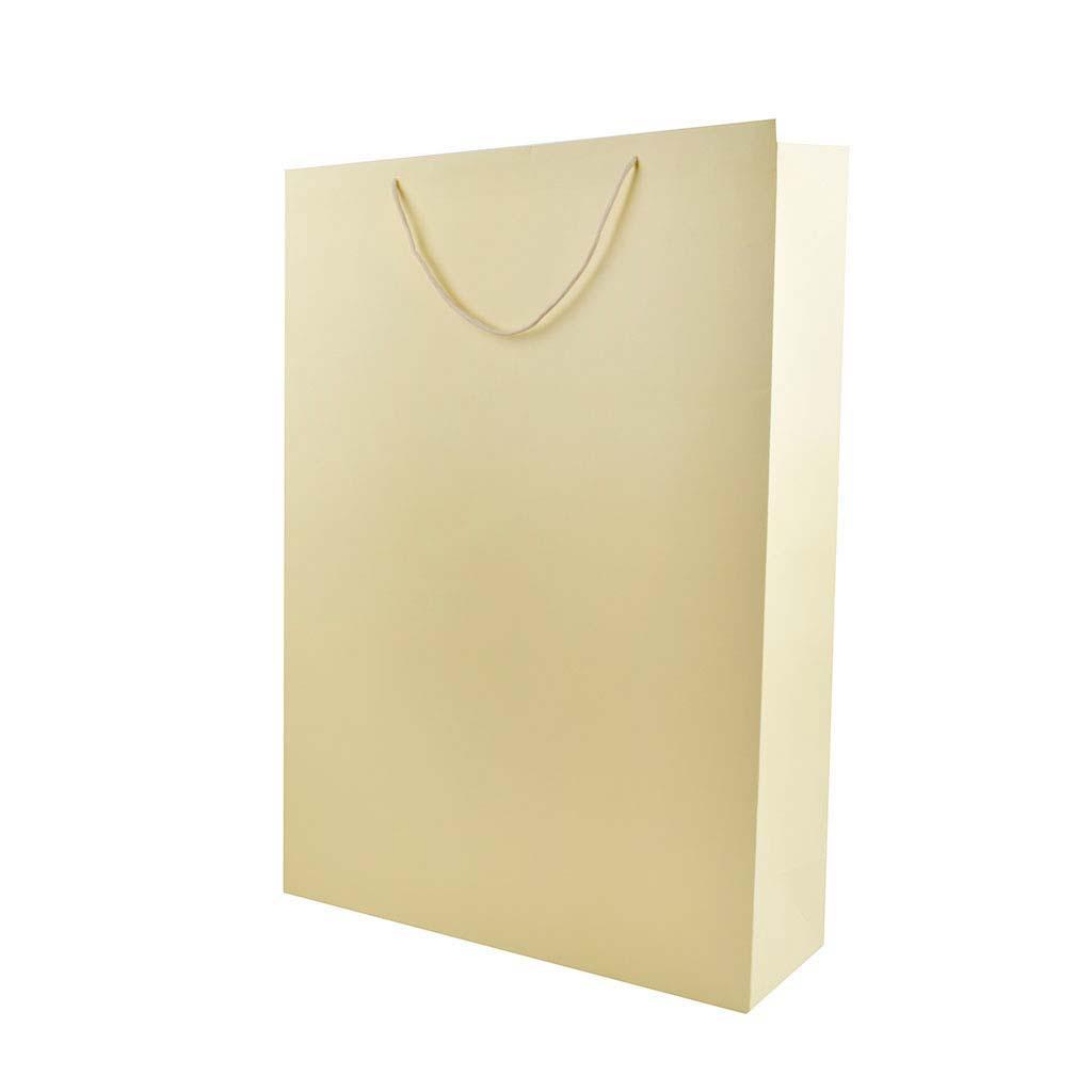 Darčeková taška jednofarebná veľkosť XXL, mix farieb