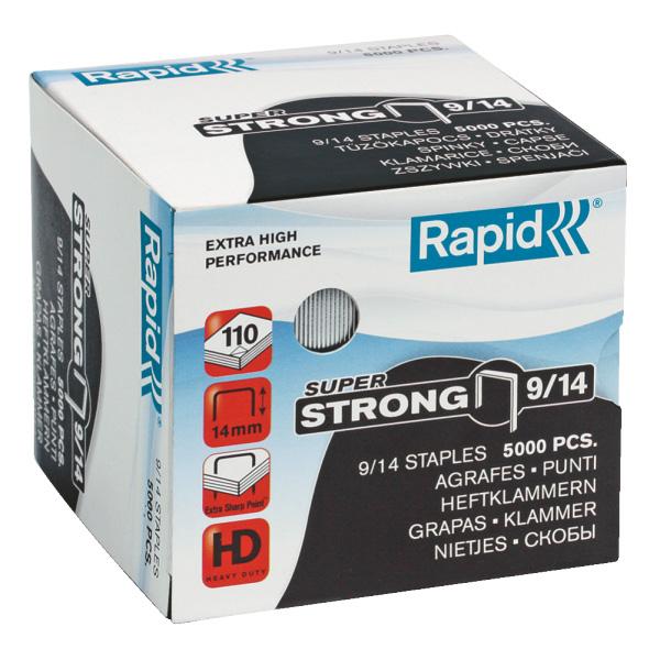 Zošívacie spony Rapid Super Strong 9/14 mm/5000 ks