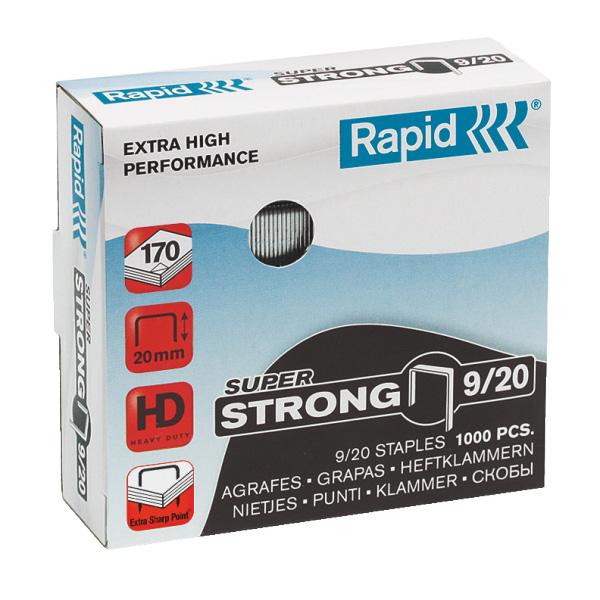 Zošívacie spony Rapid Super Strong 9/20 mm/1000 ks