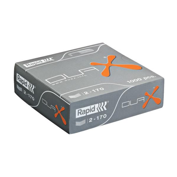 Zošívacie spony Rapid DUAX®, 1000 ks