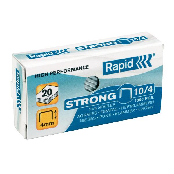 Zošívacie spony Rapid Strong 10/4 mm/1000 ks