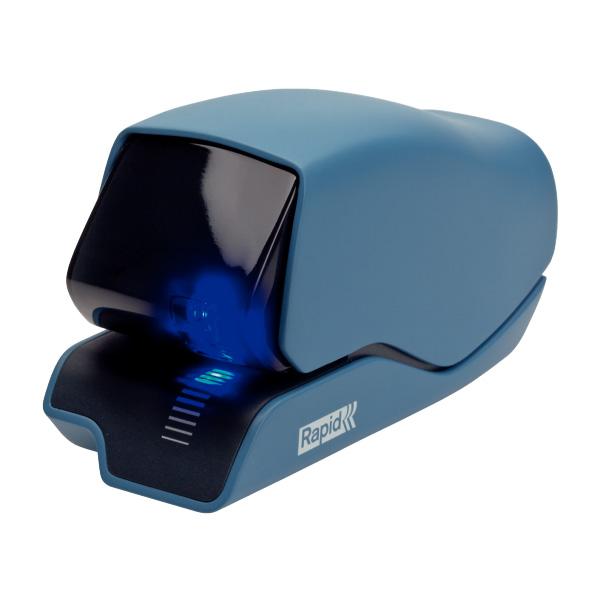 Elektrická zošívačka Rapid Supreme 5025e, 25 listov, modrá