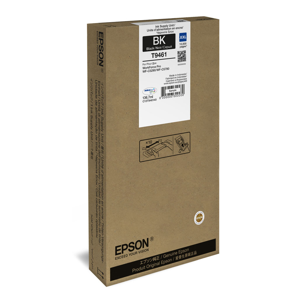 Inkjet Epson C13T945140 pre WorkForce WF-C5210, C5290, C5710, C5790 (5.000 str.) Black XL