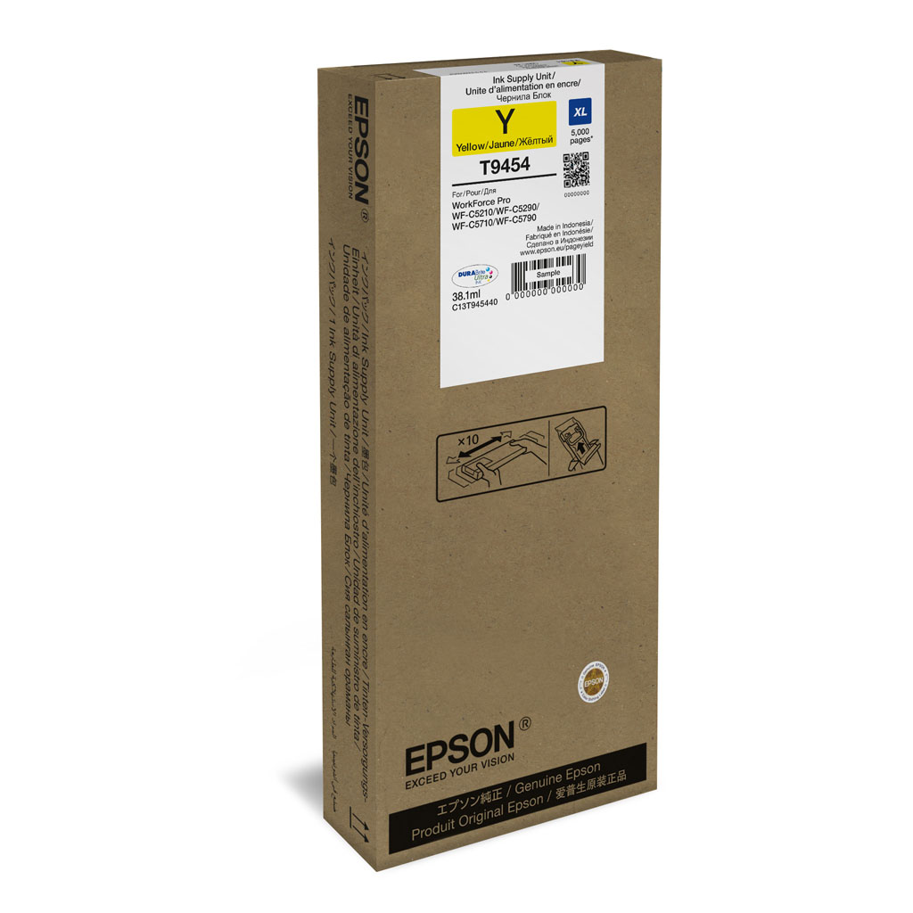 Inkjet Epson C13T945440 pre WorkForce WF-C5210, C5290, C5710, C5790 (5.000 str.) Yellow XL