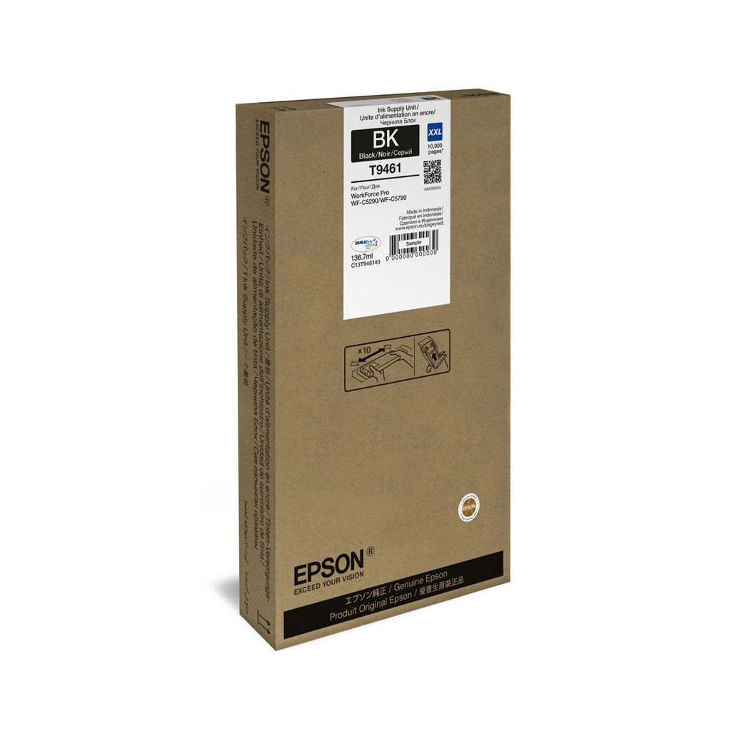 Inkjet Epson C13T946140 pre WorkForce WF-C5790 (10.000 str.) Black XXL