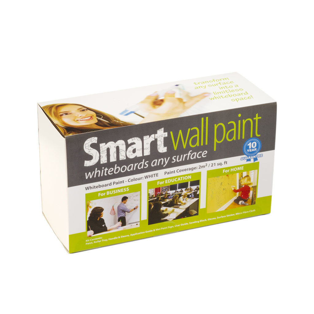 Smart Wall Paint biela 6m2