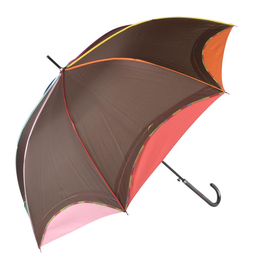 Dáždnik dúhový okraj, hnedá