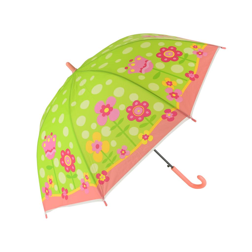 Dáždnik detský, zelená, kvety