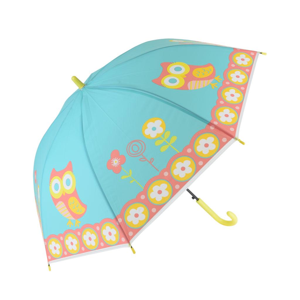 Dáždnik detský, tyrkysová, sova