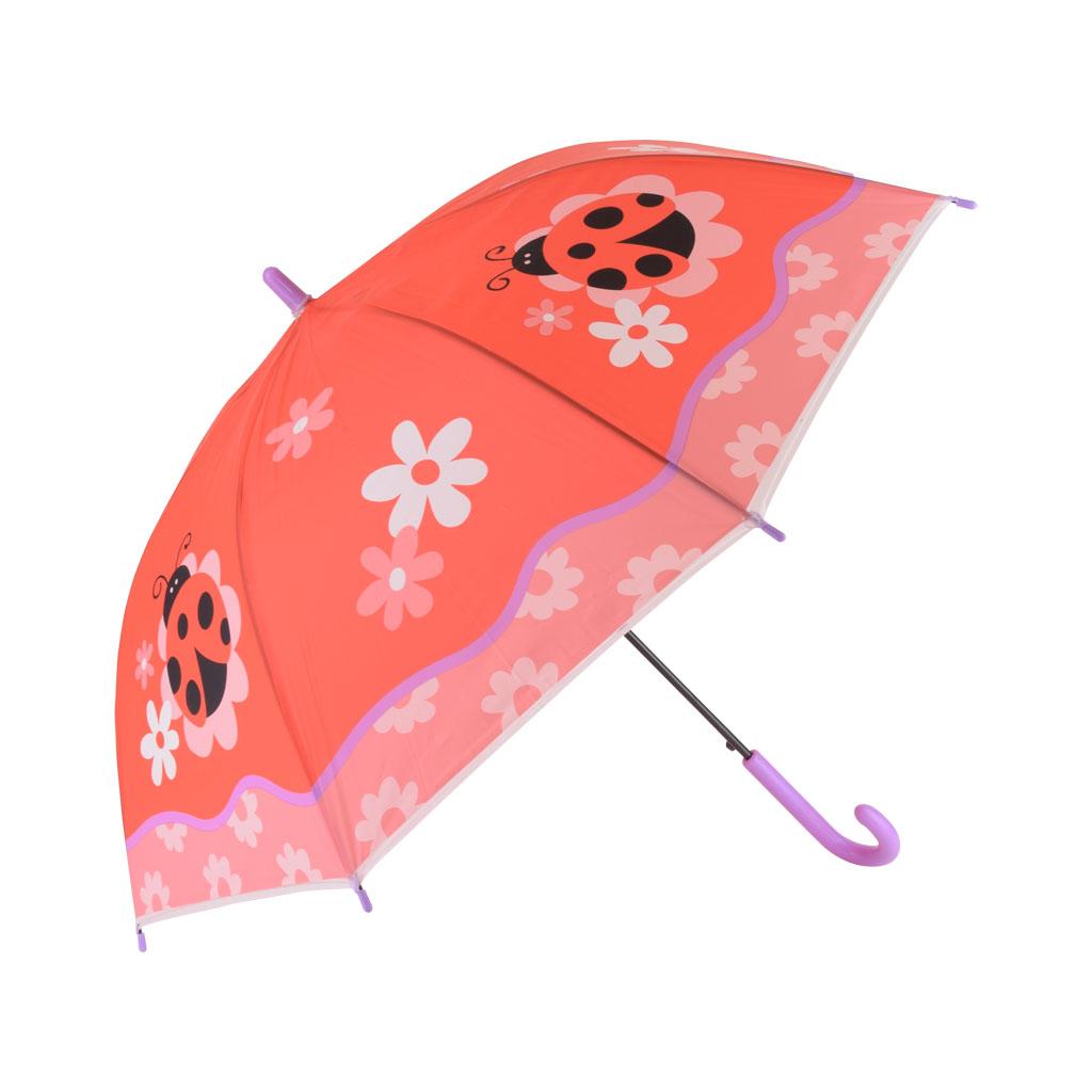 Dáždnik detský, červená, lienka
