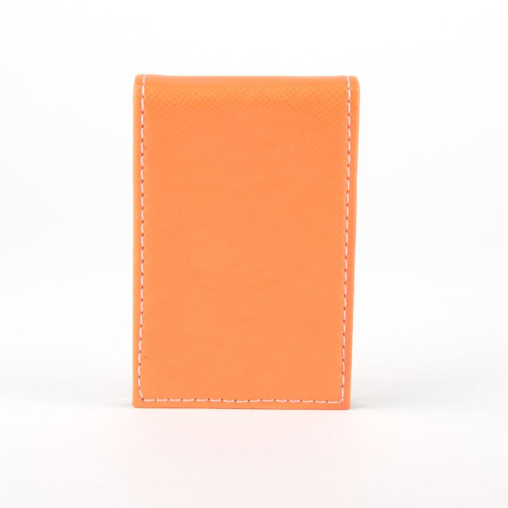 Vizitkár - oranžová, bočné otváranie