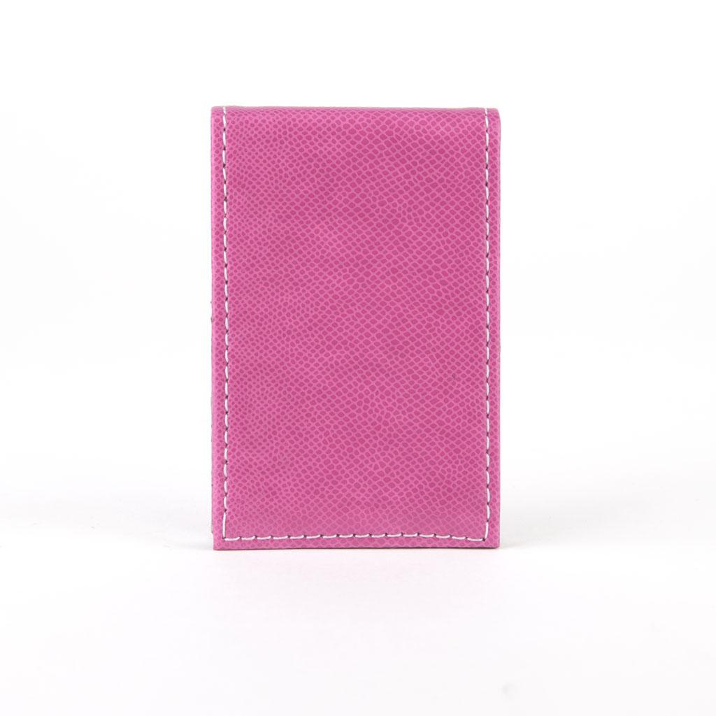Vizitkár - ružová, bočné otváranie