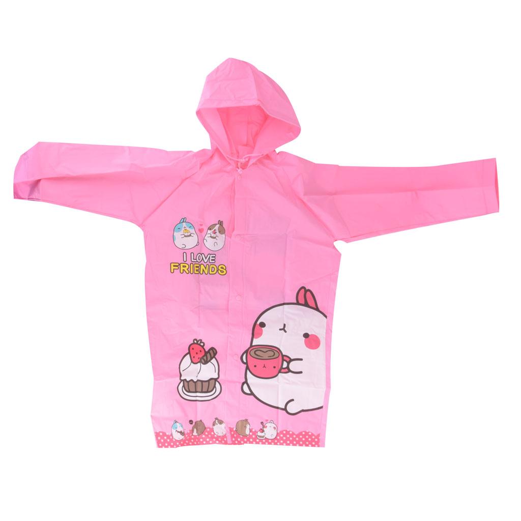 Detský pršiplášť, veľkosť M, ružový, torta