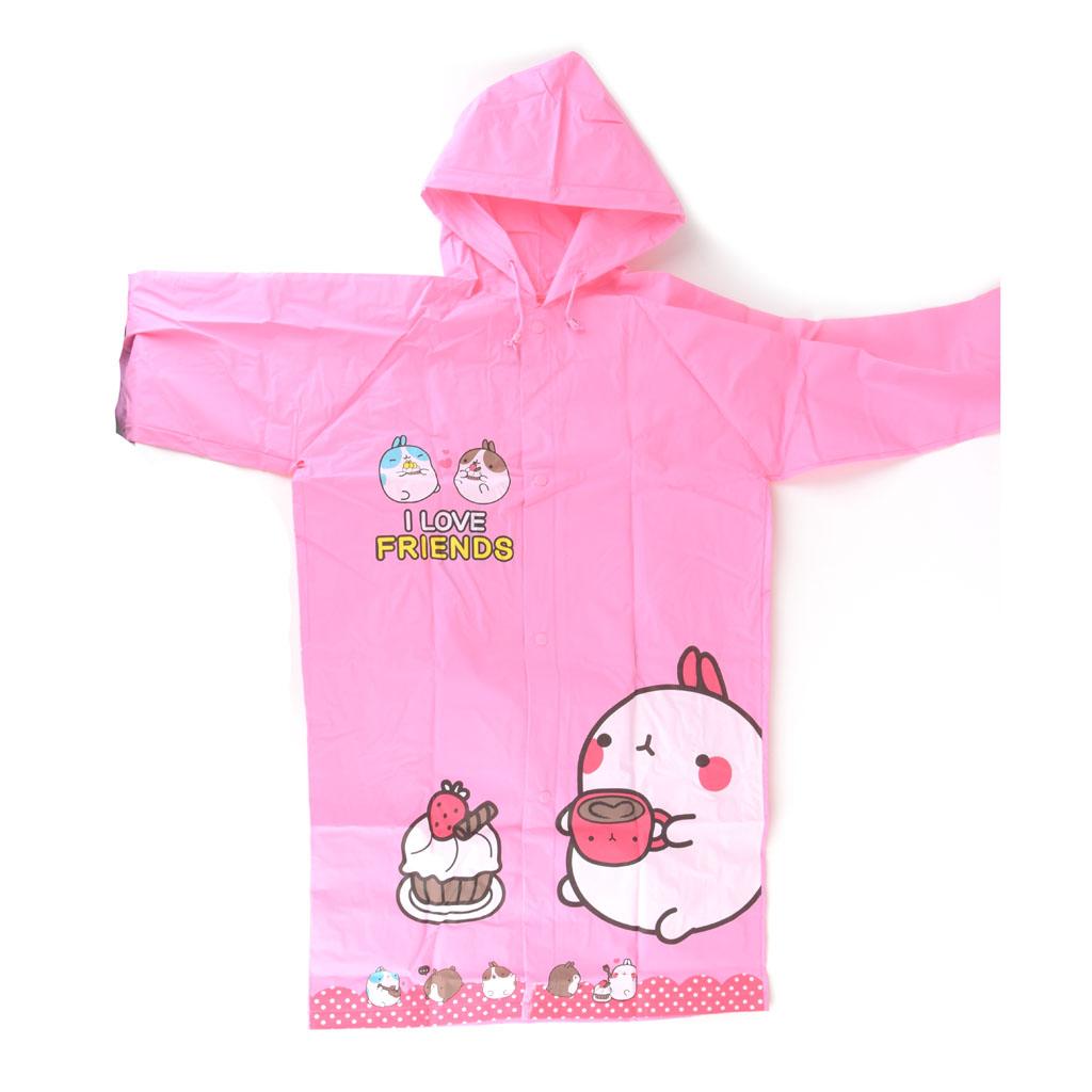 Detský pršiplášť, veľkosť L, ružový, torta