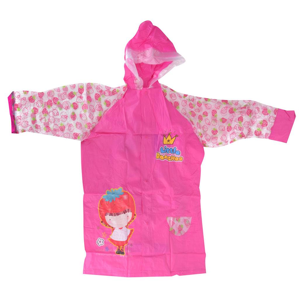 Detský pršiplášť, veľkosť XL, ružový, dievčatko