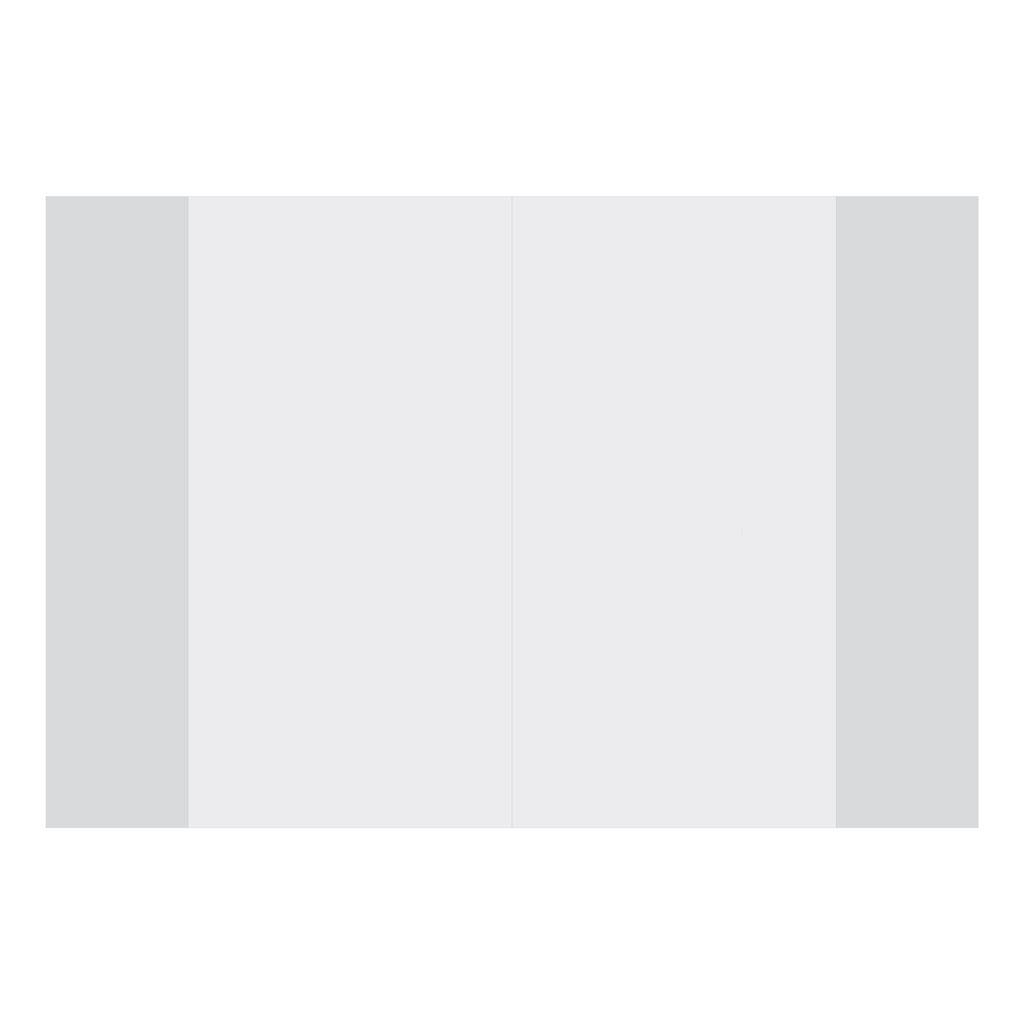 Obal na AJ cvičebnicu PVC A4, priehľadný, 453 x 283 mm