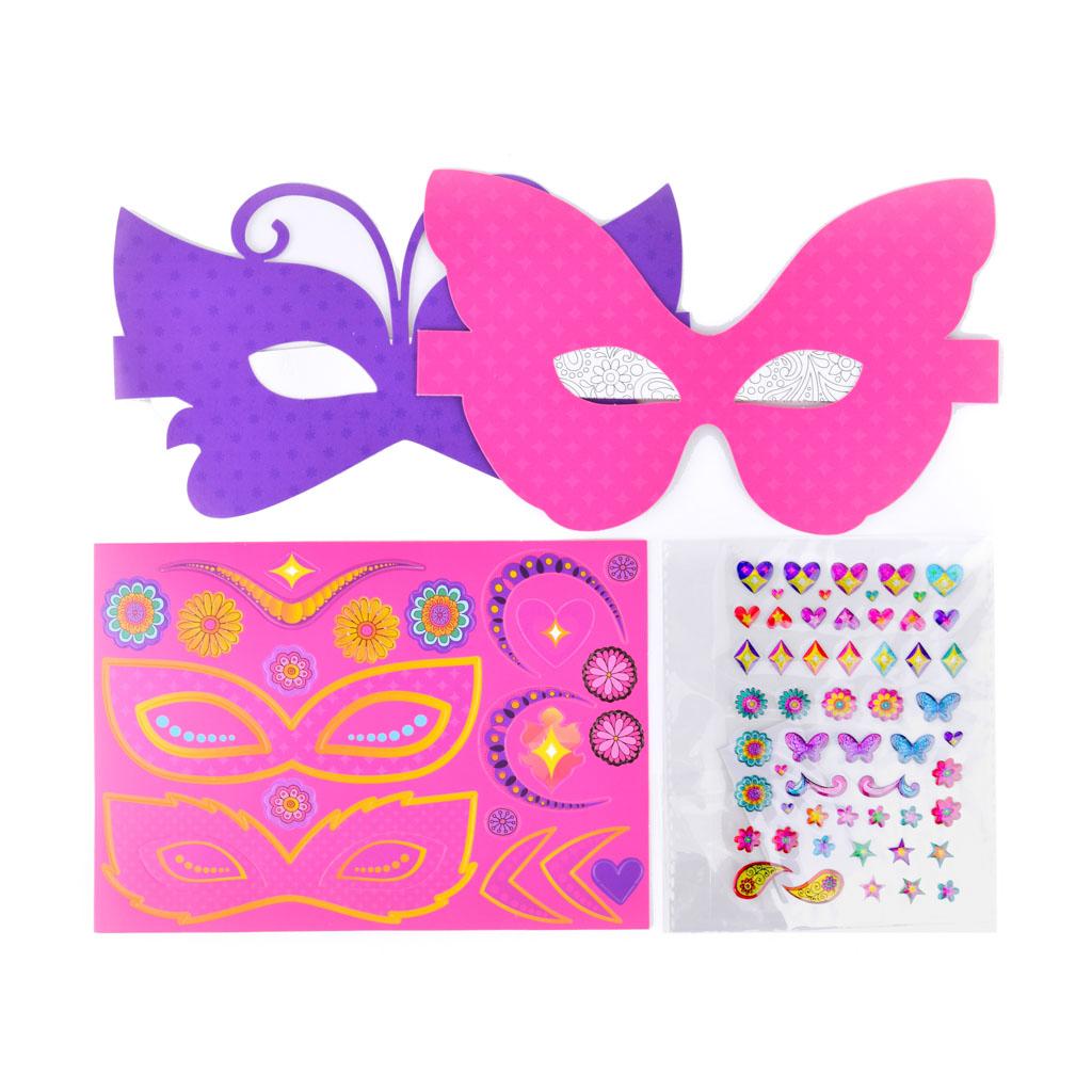 Kreatívny set, Little Hands - Masky motýľ