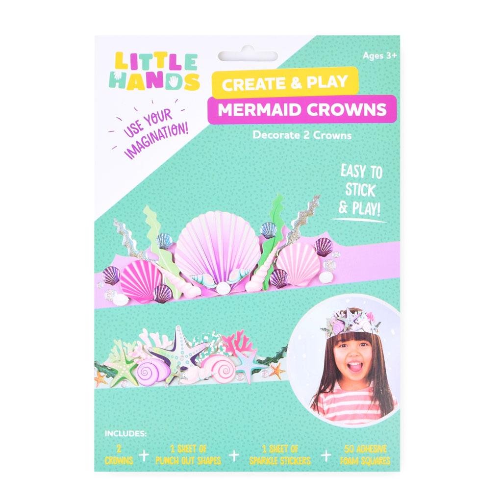 Kreatívny set, Little Hands - Korunky morskej panny
