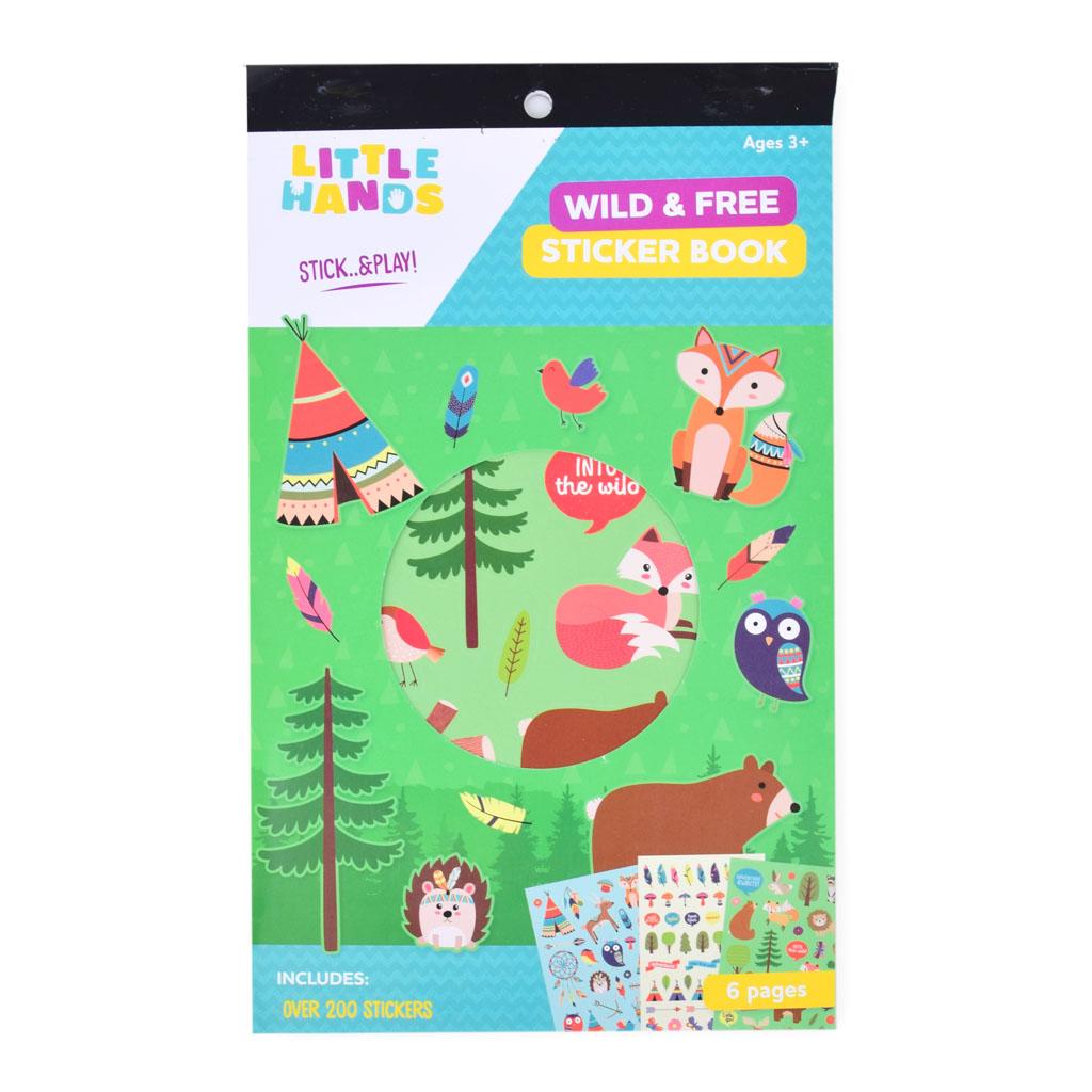 Nálepková knižka - Wild & Free