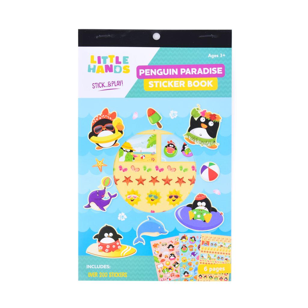 Nálepková knižka - Penguin Paradise