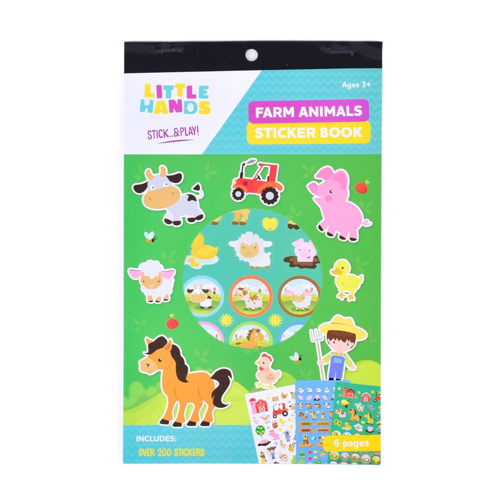 Nálepková knižka - Farm Animals