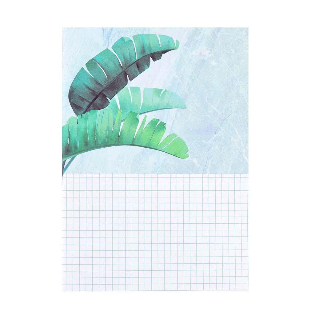 """Poznámkový blok B5, linajkový, 38l., šitý, """"Green Planet"""", mix motívov"""